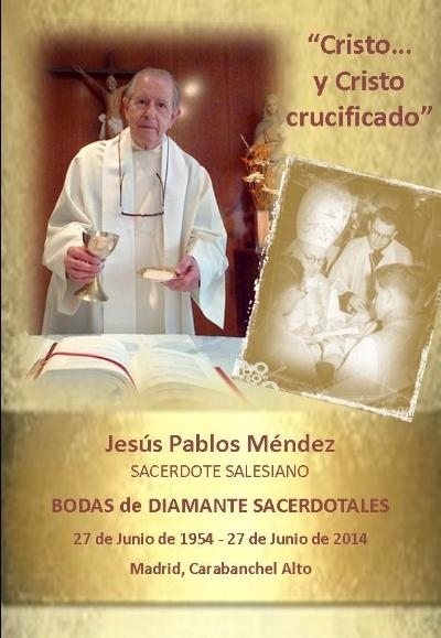 Bodas de Diamante sacerdotales de Jesús Pablos Méndez