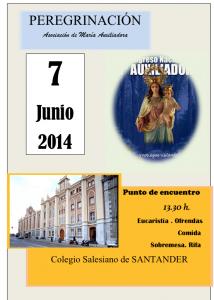 Santander acogerá la peregrinación anual de ADMA