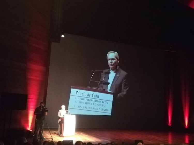 JuanSoñador, Premio a los Valores Humanos de Diario de León