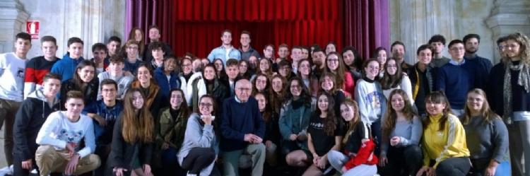 Jubilación del profesor más longevo de España