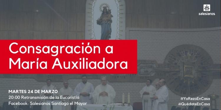 Eucaristía para la conmemoración de María Auxiliadora