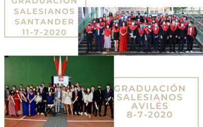 Graduaciones de Bachillerato bajo estrictas medidas de seguridad
