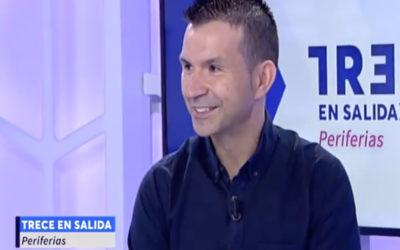 Óscar Vázquez en Trece TV: 'Tenemos la oportunidad de decidir quién queremos ser ahora'