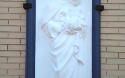 Puesta en valor del Relieve de María Auxiliadora en Salesianos Puertollano