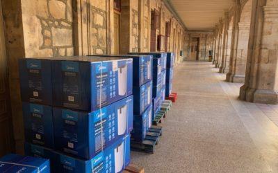 Salesianos María Auxiliadora de Salamanca instala máquinas con filtros HEPA