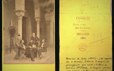 Foto con Historia: Miembros de la familia Carles