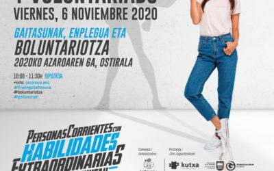 """Proyecto """"Reconoce"""" en Gipuzkoa: Competencias, empleo y voluntariado"""