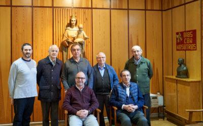 Salesianos Valladolid recibe por primera vez a Fernando García, Inspector de Salesianos SSM
