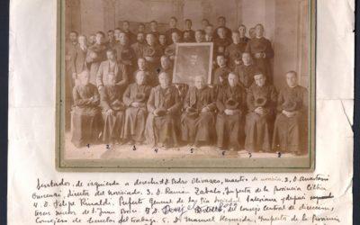 Foto con Historia: Grupo de primeros Salesianos en España