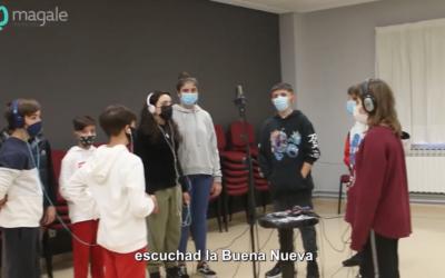 Video navideño del alumnado de 1º de ESO de Salesianos Urnieta