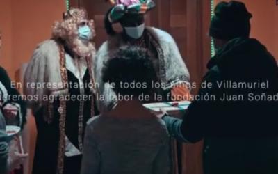 Los Reyes Magos reconocen la labor de la Fundación Juan Soñador en Villamuriel