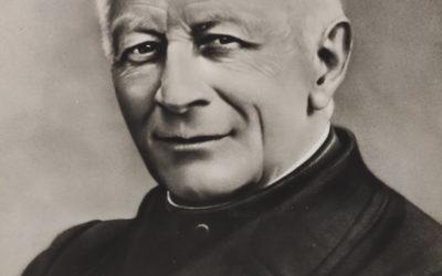 Foto con Historia: Don Pablo Albera, sucesor de Don Bosco al frente de la Congregación