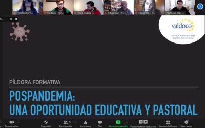 Pospandemia: una oportunidad educativa y pastoral, en el marco de la Asamblea de la Federación Valdoco