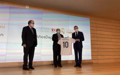 Misiones Salesianas y la Fundación Real Madrid celebran diez años de alianza