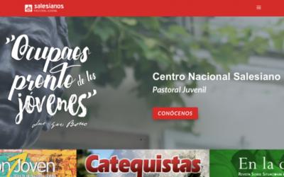 La Pastoral Juvenil Salesiana lanza una nueva web