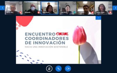 Celebrado en formato online el Encuentro de Coordinadores de Innovación