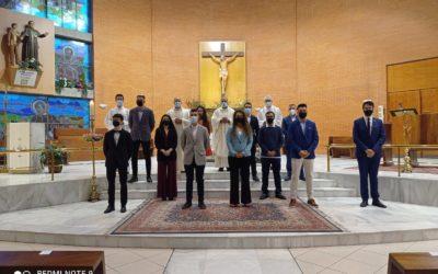9 jóvenes de Salesianos Paseo se confirman en la parroquia San Juan Bosco de Madrid