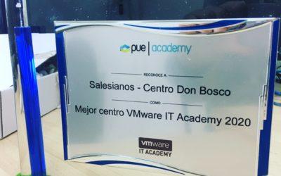 Salesianos Villamuriel mejor centro VMware IT Academy 2020 de España