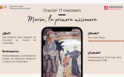 """Oración 11 misionero de mayo: """"María, la primera misionera"""""""