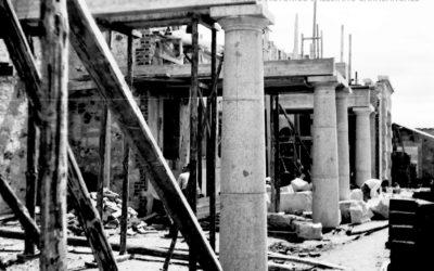 Foto con Historia: La construcción de la Universidad Laboral de Zamora