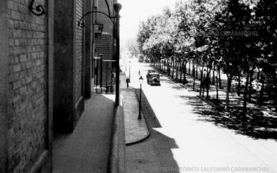 Foto con Historia: Ronda de Atocha en Madrid