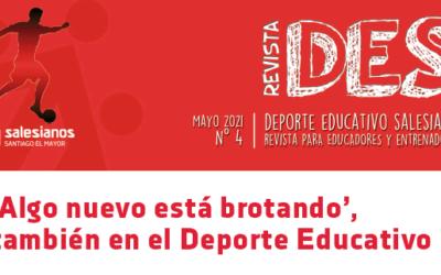 La Revista DES: Deporte Educativo Salesiano, ya está en la calle