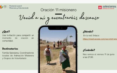 """Oración 11 misionero: """"Venid a mí y encontraréis descanso"""""""