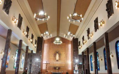 El Santuario de María Auxiliadora de Madrid retoma la normalidad tras su reapertura