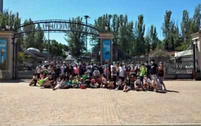 El #VeranoSalesiano conquista el Parque de Atracciones de Madrid