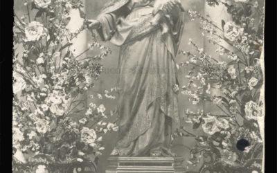 Foto con Historia: Antigua imagen de María Auxiliadora de Atocha