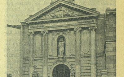 Foto con historia:  Antigua Iglesia de Salesianos Atocha