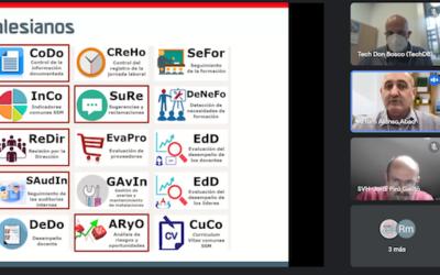 Desarrollo de la competencia digital entre los socios del Proyecto DB Wave, liderado por el Tech Don Bosco