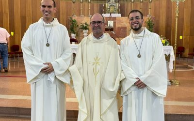 La Inspectoría cuenta con dos nuevos hermanos salesianos