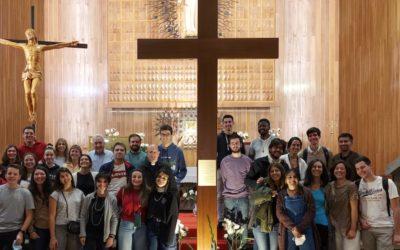 La Cruz de la JMJ en Salesianos Atocha